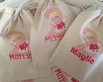 Peppa Pig favor bags