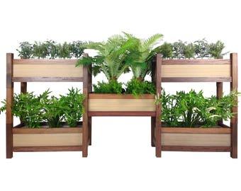 Vertical Garden Planter - Wood - Vertical Garden - Planter Boxes