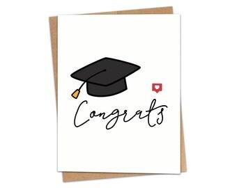 Congrats Graduation Greeting Card SKU C235