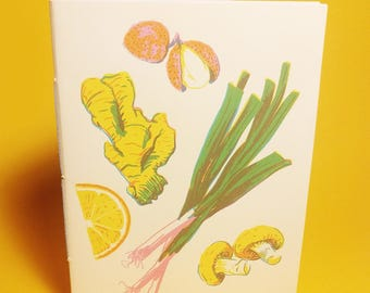 Fruits and Veggies Notebook