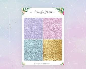 P.S. I Love You- Glitter Headers
