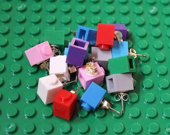 Building Block Stud Earrings