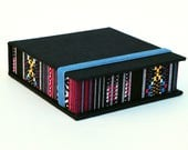 Polaroid Photo Box 4x4 in - Handmade of book cloth and Tribal/Ethnic fabric| Photo Storage | Presentation Box | Photo Album
