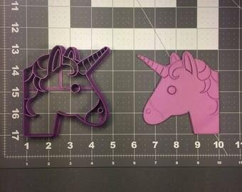Unicorn Emoji 101 Cookie Cutter