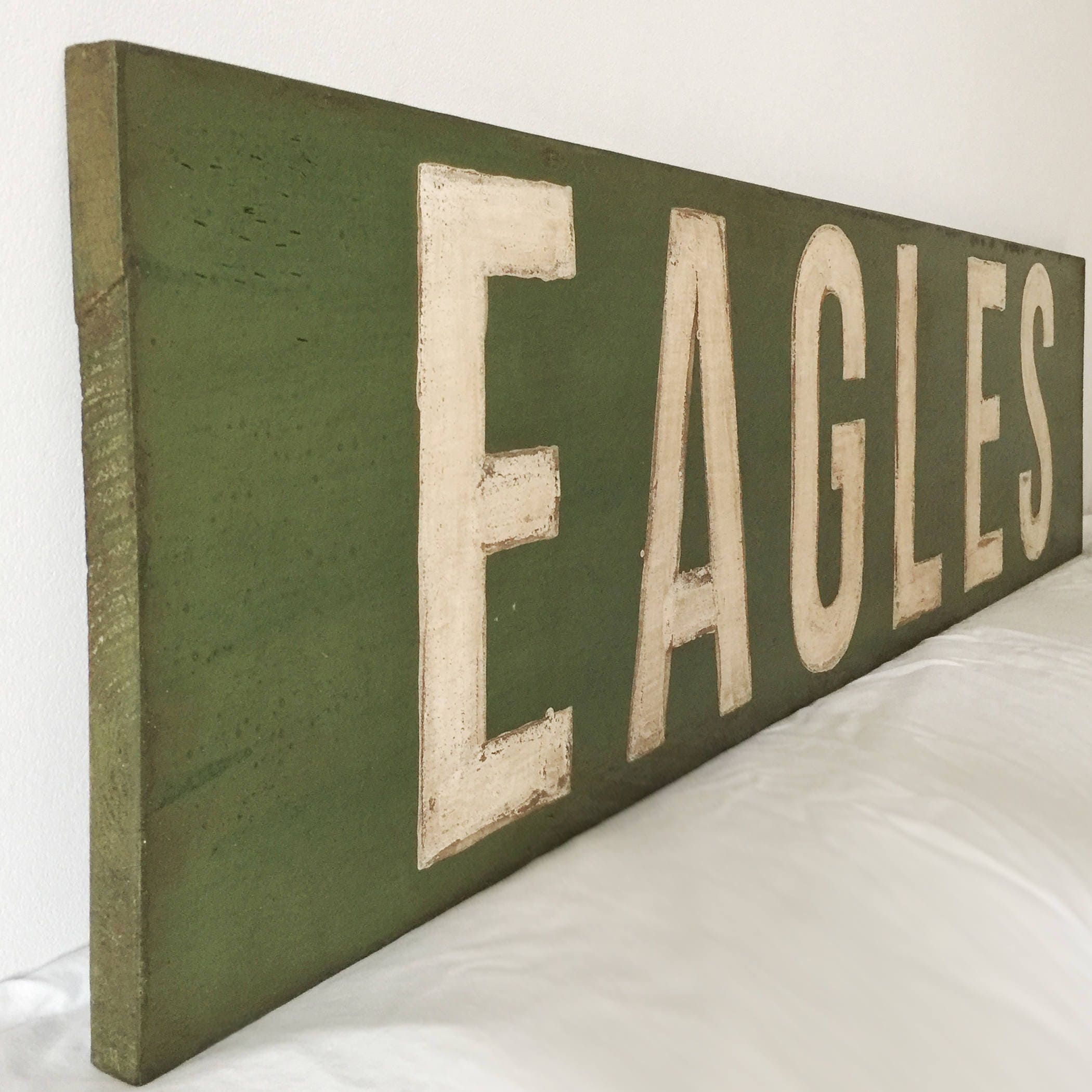 Customizable sports team retro sign vintage look sports decor customizable sports team retro sign vintage look sports decor handpainted nfl amipublicfo Image collections