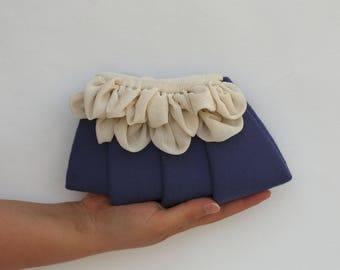 Purple petals//flower bag//flower bag//Flower Power//original woman's Gift