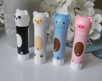 Kawaii animal glue tube