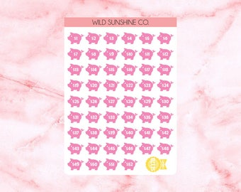 Planner Stickers | 52 Weeks | 53 stickers