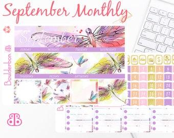 September Monthly Kit | Planner Stickers