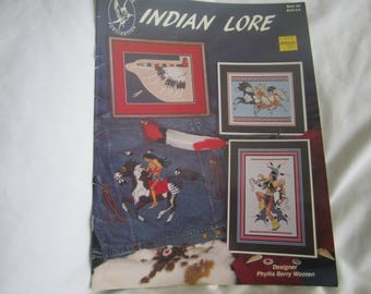 Indian Lore for cross stitch
