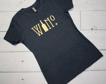 Wino - Ladies Crewneck Tee - SHIPPING INCLUDED