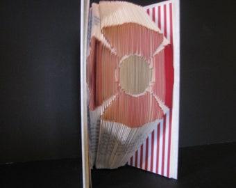 Folded Book Art, Family, Keepsake, Mother's Day, Birthday, Christmas, Art, Memorable