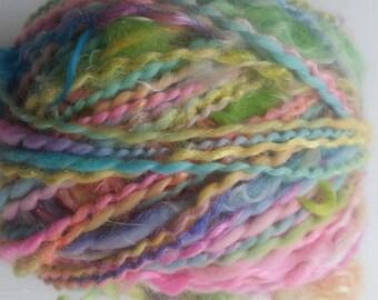 LUNA skein of yarn spun to spinning wheel.
