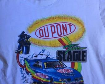 Vintage 90s DuPont NASCAR Racing T-Shirt