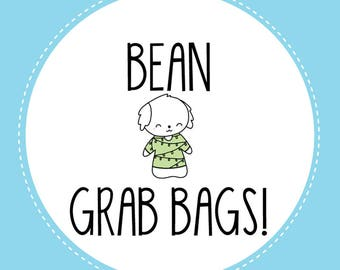Bean Planner Sticker Mystery Grab Bags