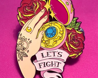 Sailor Moon -  Let's Fight Pin