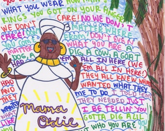 Mama Odie- The Princess & the Frog