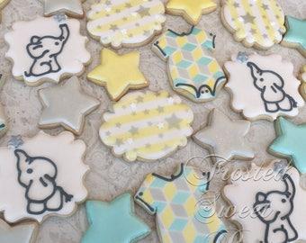 2 doz. Baby Mine Elephant Cookies