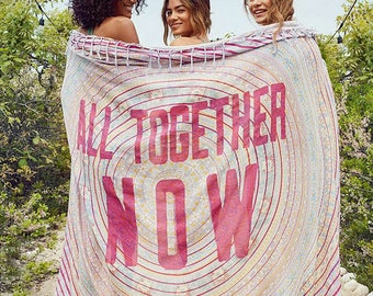 All Together Now Medallion Tapestry