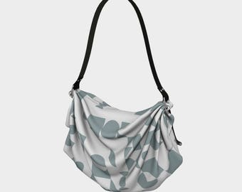 Shapeforms Gray Origami Tote