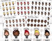 Migraine Planner Stickers - Headache Planner Stickers - Headache Tracker Planner Stickers - Food Stickers - 1471 - 1472 - 1473 - 1474 - 1475