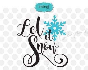 Let it snow svg, Christmas svg, Christmas quote svg, merry Christmas svg, Christmas svg files, Christmas SVG, Christmas tree SVG.   cr36