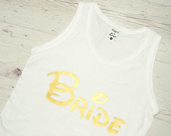 Disney Bride Shirt, Bride Disney Tank, Disney Bachelorette Party, Disney bachelorette Shirts, Disney Bridesmaid Shirt, Disney Maid of Honor