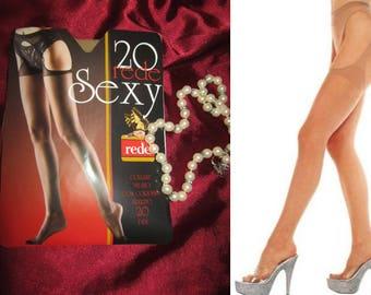 nylon stockings suspender pantyhose