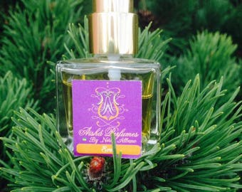 Eros Botanical Natural Perfume - 30ml Square Bottle Spray - Men's Parfum - Sensual capturing the impressions of  green woods.