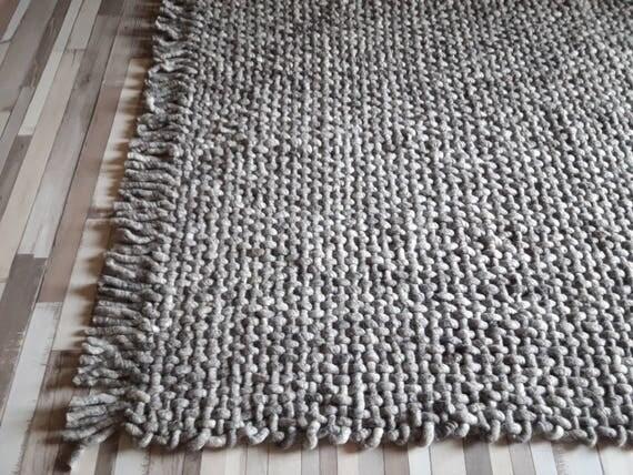 baumwoll teppich gewebt affordable dieser indische yogateppich aus reifester baumwolle ist sehr. Black Bedroom Furniture Sets. Home Design Ideas
