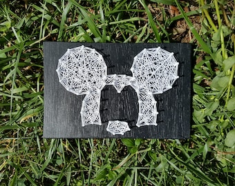 Mickey Mouse String Art Made to Order Home Decor