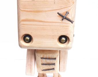Reclaimed wood - ringmaster robot