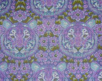 Tula Pink - Eden - Crouching Tiger - Amethyst - Free Spirit - Priced Per Yard