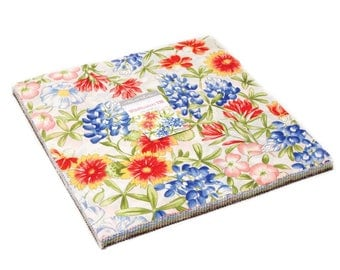"Moda WILDFLOWERS VIII 42 10"" Quilt Fabric Squares 33220LC Layer Cake"