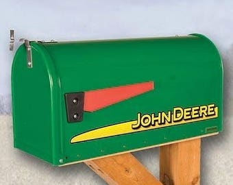 John Deere Modern Mailbox