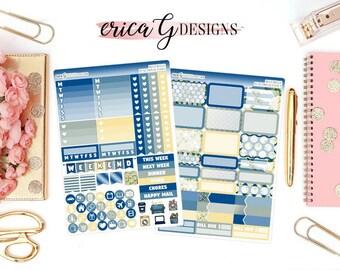 Base Kit (2 Sheets): Blue Belle