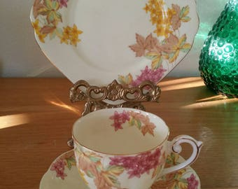 Vintage Bell Fine Bone China/English Trio/Cup,Saucer, Side Plate
