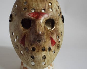 Custom Jason Style Plastic Hockey Mask