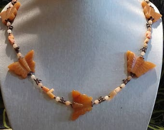 Dragonflies and Butterflies Necklace