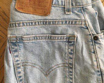 Vintage 550 Levi jeans