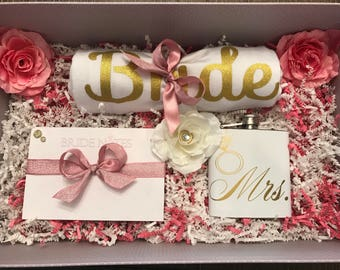 Large Bridal Engagement Wedding Gift Box, Bride Gift, Engagement Gift, Bride To Be Gift