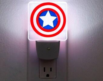 Captain America LED Night Light (the Avengers)