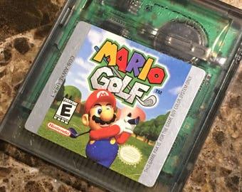 1999 Gameboy Mario Golf