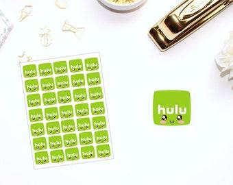 Kawaii Hulu // Planner Stickers