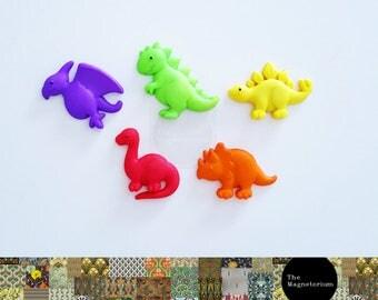 Dinosaur Fridge Magnet Set