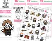 Munchkins - The Wizarding World Magical Witches and Wizards Planner Stickers (M407)