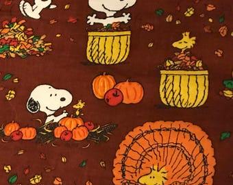 Snoopy Thanksgiving Etsy