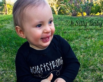 Cleftstrong Onesie or Shirt, #Cleftstrong, Bodysuit, Cleft Lip, Cleft Palate, Customize, Long Sleeve, Short Sleeve, Boy