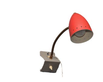 Vintage Dutch wall lamp by H. Busquet for Hala Zeist, 1960s