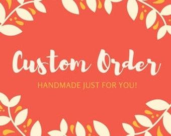 Custom Wedding Order for Emily